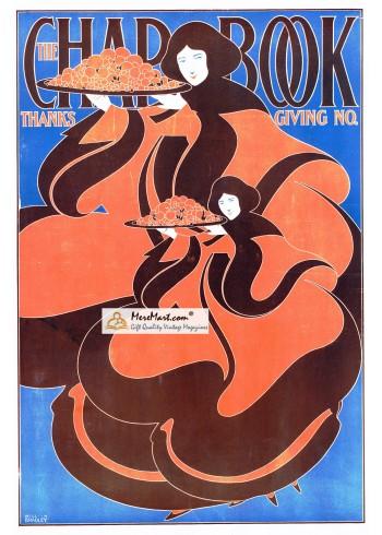 The Chap Book, November, 1895. Poster Print. W. Bradley.
