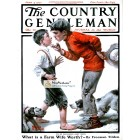 The Country Gentleman, June 4, 1921. Poster Print. Norman Rockwell.