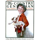 The Country Gentleman, March 18, 1922. Poster Print. Norman Rockwell.