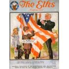 The Elks, June, 1922. Poster Print. Leyendecker.