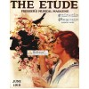 The Etude, June, 1918. Poster Print.