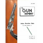 Cover Print of The Gun Report, April 1961