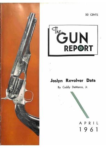 Cover Print of The Gun Report, April 1961