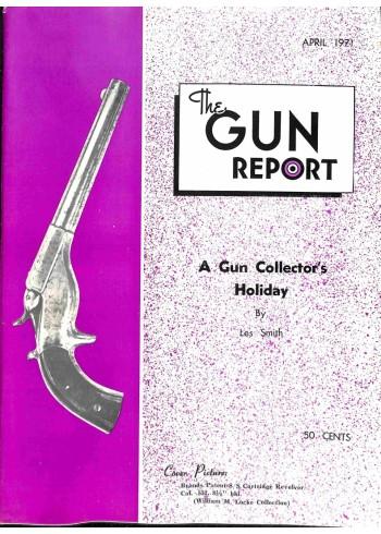 Cover Print of The Gun Report, April 1971