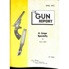 Cover Print of The Gun Report, April 1972