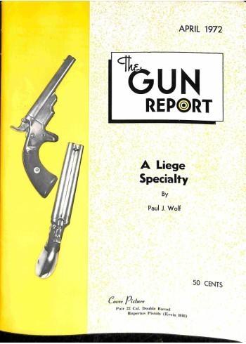 Cover Print of The Gun Report, April 1972