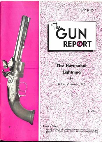 Cover Print of The Gun Report, April 1977
