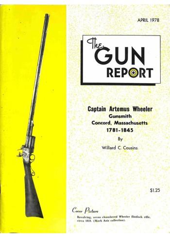 Cover Print of The Gun Report, April 1978