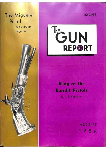 Cover Print of The Gun Report, August 1956