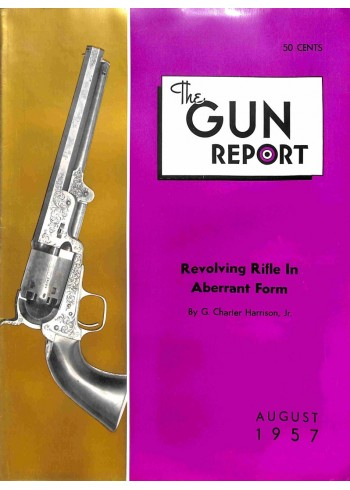 Cover Print of The Gun Report, August 1957