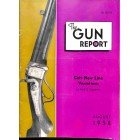 Cover Print of The Gun Report, August 1958