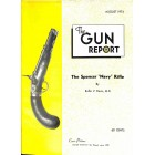 Cover Print of The Gun Report, August 1974