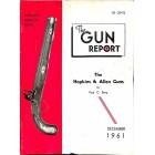 Cover Print of The Gun Report, December 1961