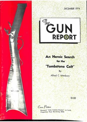 The Gun Report, December 1974