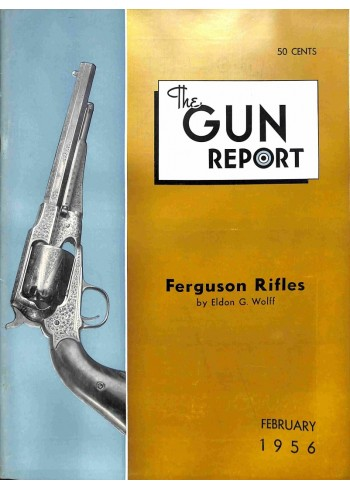 Cover Print of The Gun Report, February 1956