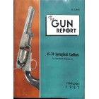 Cover Print of The Gun Report, February 1957