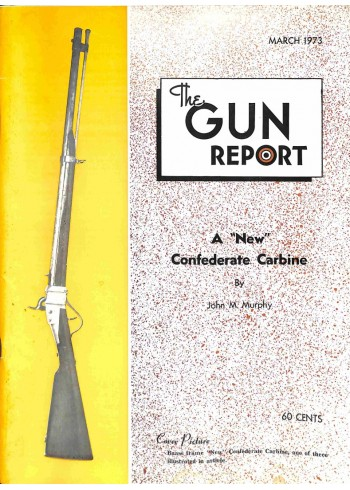 The Gun Report, March 1973