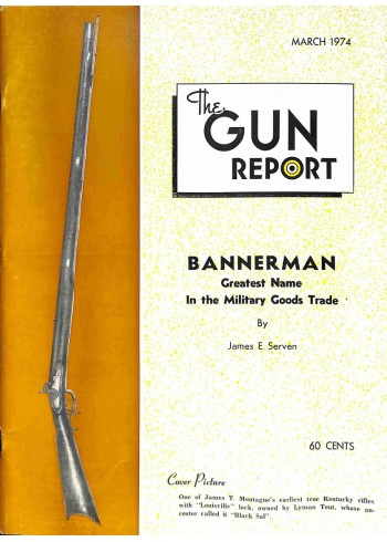 The Gun Report, March 1974