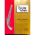 Cover Print of The Gun Report, October 1958