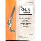 Cover Print of The Gun Report, October 1973