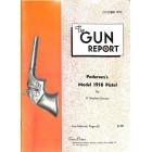 Cover Print of The Gun Report, October 1974