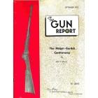 Cover Print of The Gun Report, September 1972