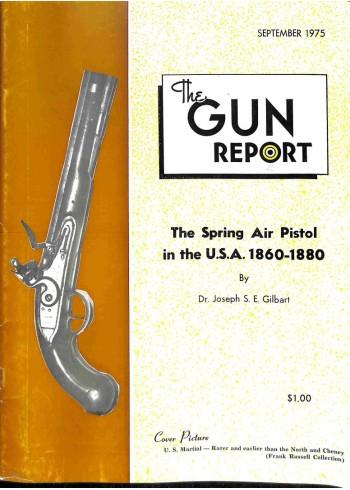 Cover Print of The Gun Report, September 1975