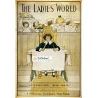 The Ladies World, November, 1910. Poster Print. T M Burd.