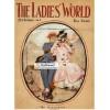 The Ladies World, October, 1908. Poster Print. Leyendecker.