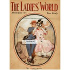 The Ladies World, October, 1908. Poster Print. Leyendecker.