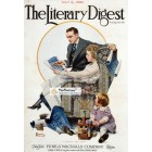 The Literary Digest, May 8, 1920. Poster Print. Norman Rockwell.