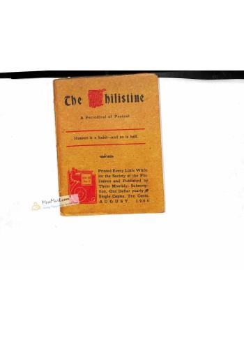 The Philistine, August 1906