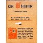 The Philistine, February 1912