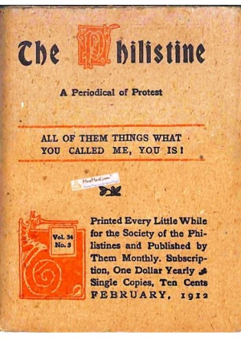 Cover Print of The Philistine, February 1912