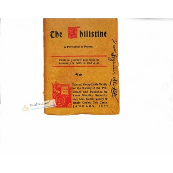 Cover Print of The Philistine, January 1907
