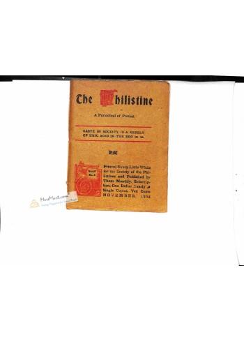 The Philistine, November 1908