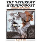 The Saturday Evening Post, April 22, 1905. Poster Print. Leyendecker.