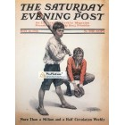 The Saturday Evening Post, May 14, 1910. Poster Print. Anton Fischer.
