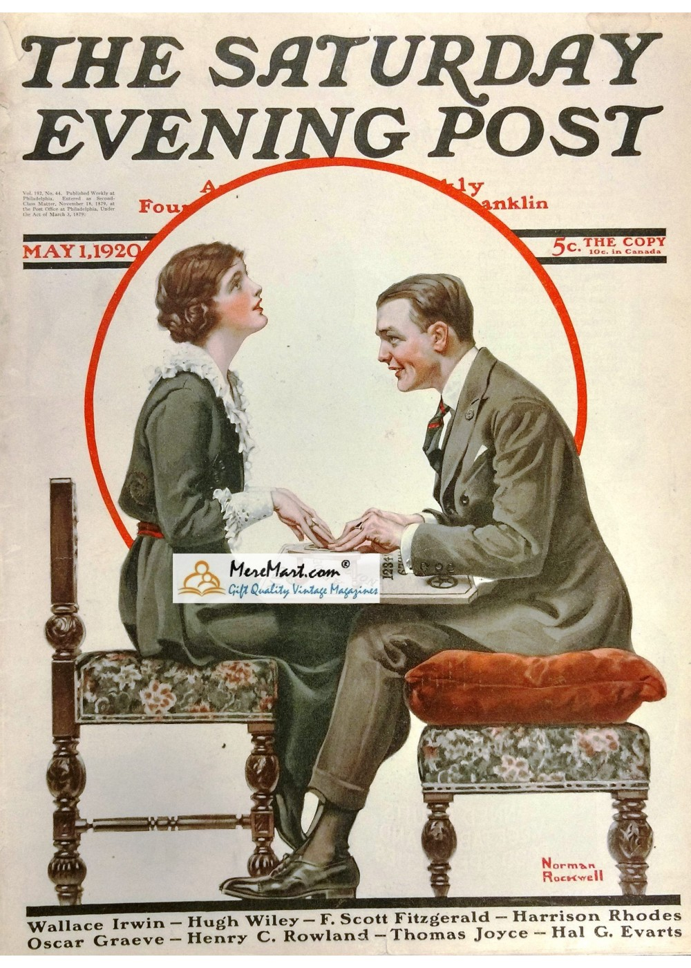 THE SATURDAY EVENING POST TREASURY by ROGER BUTTERFIELD