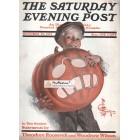 The Saturday Evening Post, October 26, 1912. Poster Print. Leyendecker.