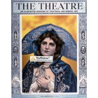 The Theater, April, 1922. Poster Print.