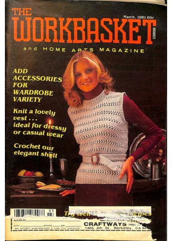 Cover Print of The Workbasket, March 1981