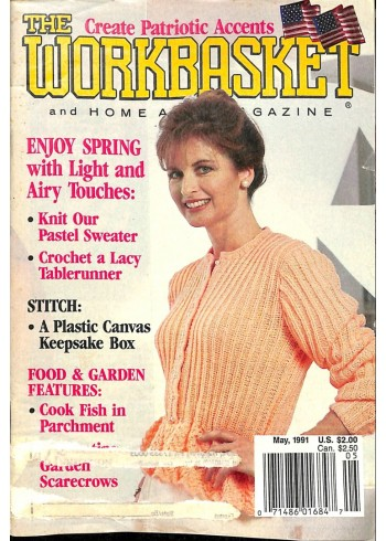 Cover Print of The Workbasket, May 1991