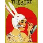 Theatre Magazine, April, 1924. Poster Print. Baskerville.
