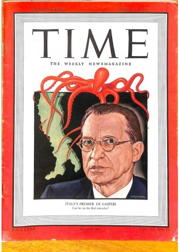 Cover Print of Time, April 19 1948
