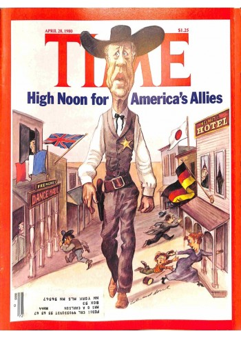 Cover Print of Time, April 28 1980