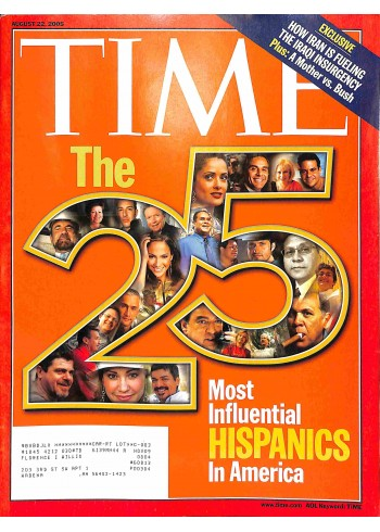 Cover Print of Time, August 22 2005