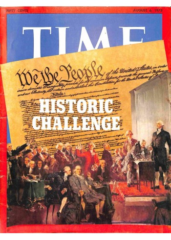 Cover Print of Time, August 6 1973