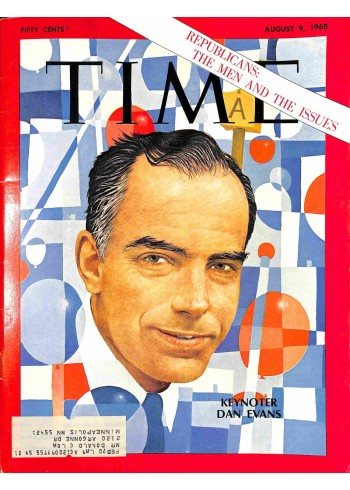 Cover Print of Time, August 9 1968