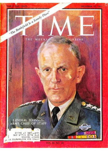 Cover Print of Time, December 10 1965